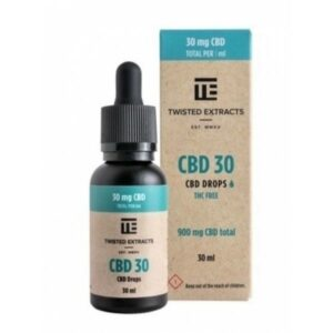 Twisted Extracts CBD Cannabis Drops